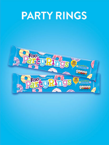 Party rings Biscuit range image